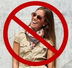 No fashion allowed