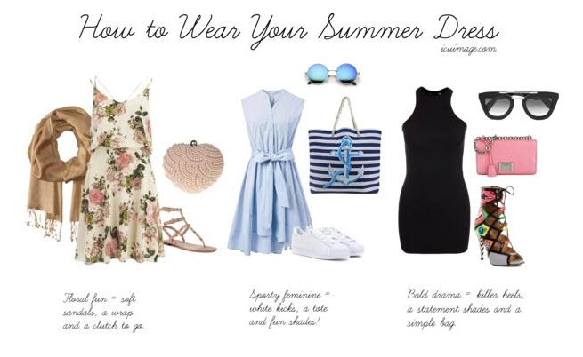 summer dress styling