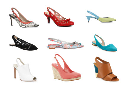 summer slingbacks