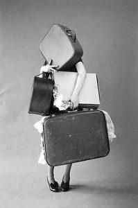 too much lugage